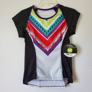 Moxie Cycling/ Color Block Tee